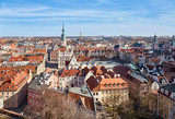 Poznan Old Town on a sunny day, Poland.