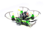 green racer drone