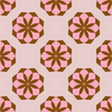 Seamless pattern with colorful flowers. Floral ornament background. Vector illustration.   - 256066494