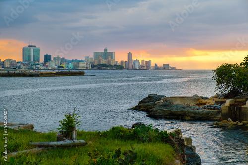 obraz PCV The city of Havana at sunset