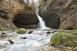 Bläsimühle Wasserfall, wilder Tobelbach, Erdhöhle, Zürcher Oberland - 256171612