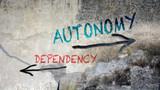 Sign 391 - Autonomy