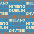 Dublin, Ireland seamless pattern - 256196287