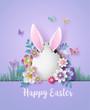 Illustration of Easter day
