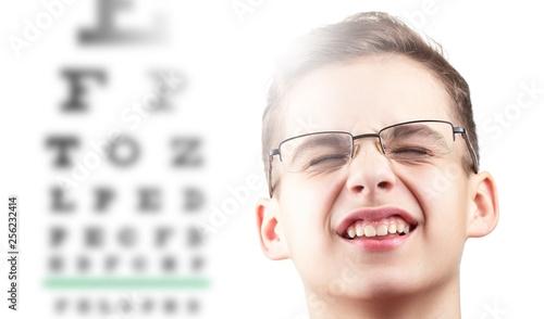 Eye eyesight ophthalmology test and vision health,  medicine doctor.