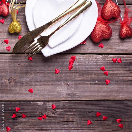 St. Valentine Day background. © daffodilred