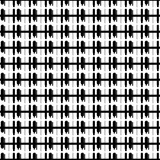 Abstract textured seamless pattern with sticks, squares. Geometric shapes. Vector illustration.     - 256318444