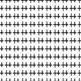 Abstract textured seamless pattern with sticks, squares. Geometric shapes. Vector illustration.     - 256318482
