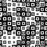 Halftone seamless abstract background with squares. Infinity geometric pattern. Vector illustration.     - 256318642