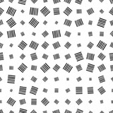 Halftone seamless abstract background with squares. Infinity geometric pattern. Vector illustration.     - 256318805