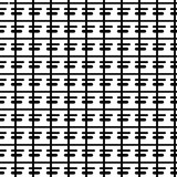 Abstract textured seamless pattern with sticks, squares. Geometric shapes. Vector illustration.     - 256318830