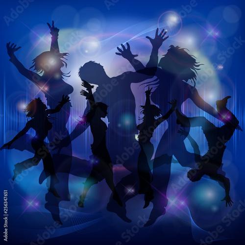 Dancer figures poster.