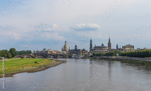 Dresden, Germany - the Elbe River cuts Dresden in two halves, and its one the main landmarks of the city, offering a large number of amazing views