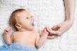 very good newborn child