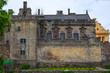 Leinwanddruck Bild - Fassade des Scholosses in Stirling/Schottland