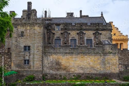Leinwanddruck Bild Fassade des Scholosses in Stirling/Schottland