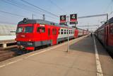 Train, Kaluga, Russia