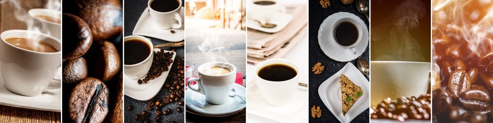 Collage of coffee © stockfotocz