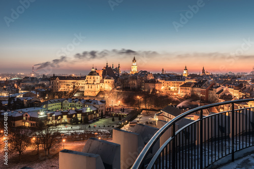 Panorama of old town in City of Lublin, Poland © Marcin Mularczyk