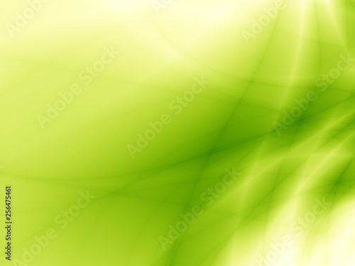 Leaf wallpaper abstract green bright nature design © rmion