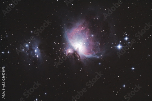 Orion Nebula and the Running man  © Олег Мельников