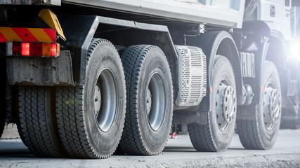 transport ciężki - wywrotka