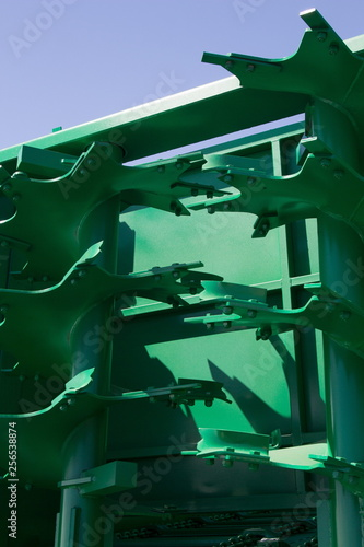 Details agricultural machinery © kozlik_mozlik