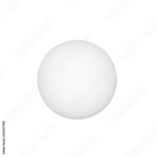 Une balle de tennis de table
