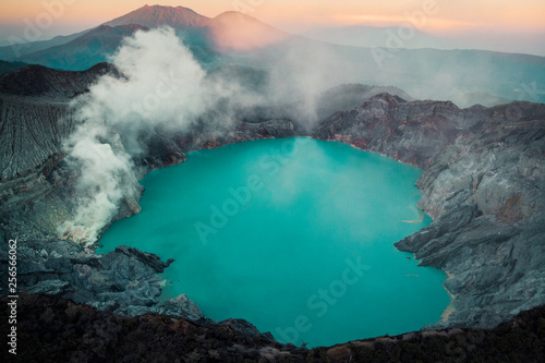 ijen crater java - 256566062