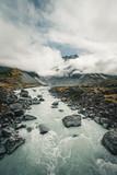 glacier river mit cook