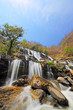 Beautiful view of Mae Ya Waterfall on hot sun day in the summer, northern of Thailand - 256566812