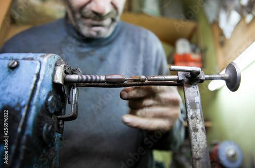 handmade rosary manufacturer. Oltu/Erzurum/Turkey.  © murat
