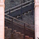 Fototapeta Fototapety na drzwi - stairs architecture in Bilbao Spain © Ismael