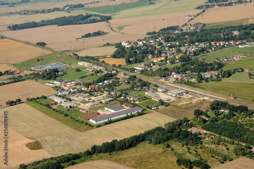 Züssow an der Bahnstrecke zwischen Anklam und Greifswald