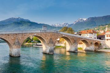 Konjic bridge, Bosnia and Herzegovina © ttinu