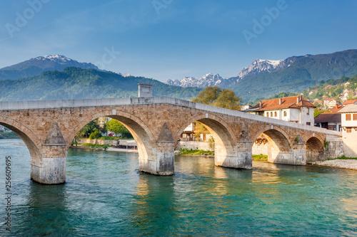Konjic bridge, Bosnia and Herzegovina