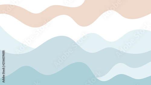 Soft Color Background with Natural and Tropical Atmosphere - 256639688