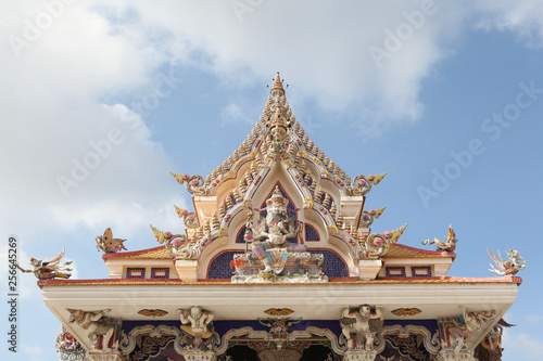 Wat Pariwat («The David Beckham Temple») in Bangkok (Thailand)