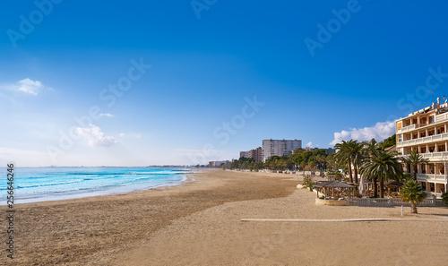 Leinwanddruck Bild Benicassim Voramar playa beach Castellon