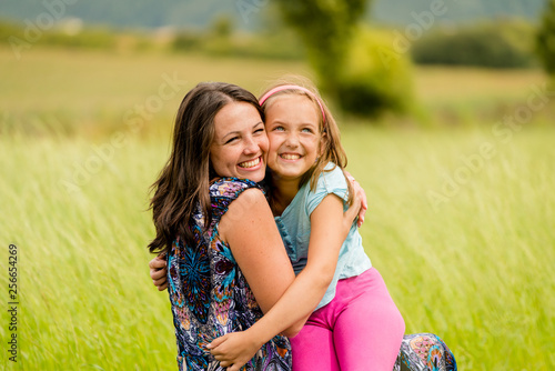 Mother and child - happiness