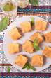 baklava, oriental dessert - 256657829