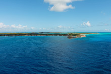 "Постер, картина, фотообои ""Caribbean island coast"""