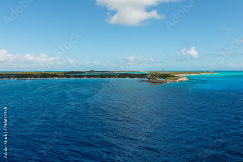 Caribbean island coast