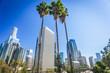 Quadro Los Angeles, California, USA downtown cityscape