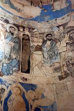 "Постер, картина, фотообои ""Fresco Inside Ancient Church in Akdamar"""
