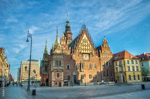 fototapeta na ścianę Stary Ratusz we Wrocławiu