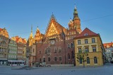Fototapeta City - Ratusz Miejski Wrocław © Mateusz