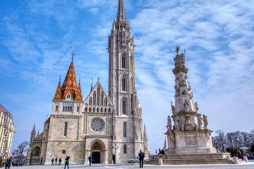 obraz PCV Matthias Church in Budapest, Hungary.