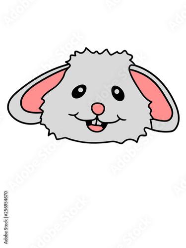 canvas print picture gesicht kopf hase lachen kaninchen osterhase ostern eier lustig comic cartoon clipart
