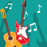 guitar electric and acoustic instruments